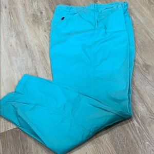 Lauren Jeans Co Ralph Lauren Turquoise blue pants